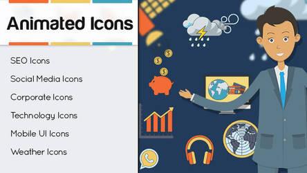 Customizable Animated Icons by eEl886