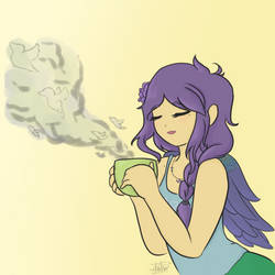 [Z-T] Violeta- Tea Time by CuriosityKitty
