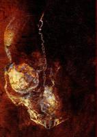 Grunge  Skull by ravinsilverlock
