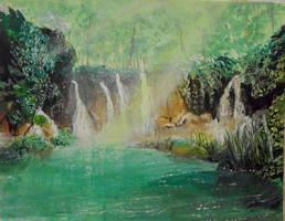 Emerald Pond by ravinsilverlock