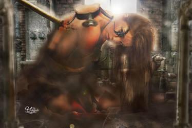 Creation Of Beautiful Monster by ravinsilverlock
