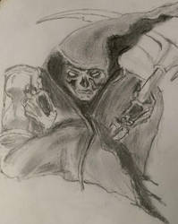 Reaper Sketch by ravinsilverlock