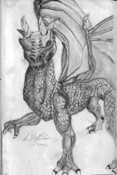 Dragon-drawing-Jan-2018 by ravinsilverlock