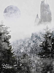 Winter Castle by ravinsilverlock