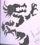 Tribal Dragon by ravinsilverlock