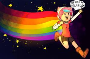 Snookie The Nyan Cat!!! by SnookieVonPink123