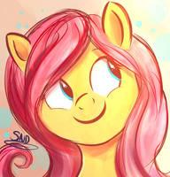 Fluttershy by SnookieVonPink123