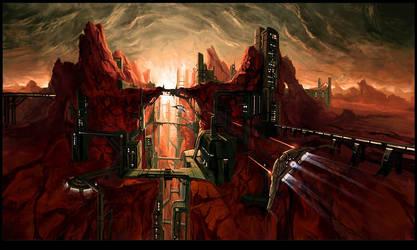 mars base 7 by Audic