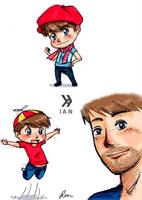 Smosh - Ian by GothicShoujo