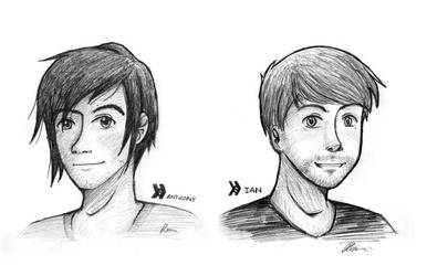 Smosh - Ian and Anthony -final- by GothicShoujo