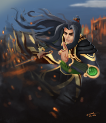 Zhin - The Tyrant | Paladins by DanielNyR