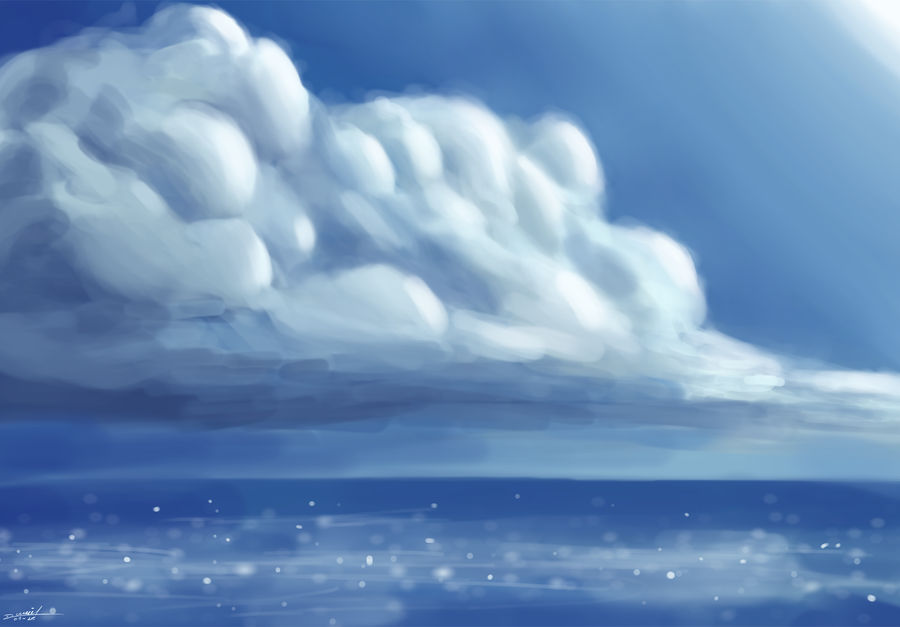 sky and sea by DanielNyR