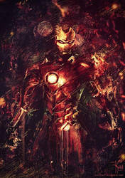 Iron Man by F-Kroll