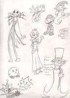 Stuff I always wanted to draw by karaskitty