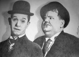 Laurel and Hardy by ViniciusFG
