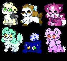 Kittydog Adopts {0/6} CLOSED by Blume-Doom