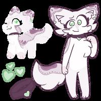 Purple Cat Adopt {CLOSED} by Blume-Doom