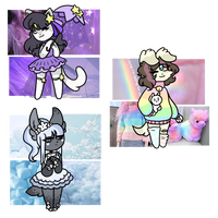 Aesthetic Adopts! {Mystery Batch!} Revealed! by Blume-Doom