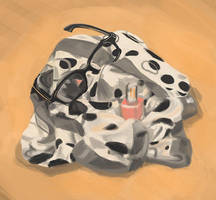 1st of 20 still life color studies by Wundertastisch