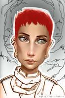 Redhead by Wundertastisch