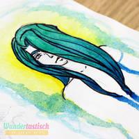 Green Hair by Wundertastisch