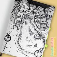 Inktober: City by Wundertastisch