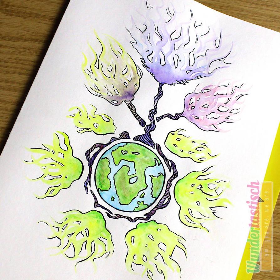 Tree of Life by Wundertastisch