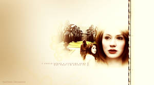 Simple Amy Pond Wallpaper by TinaTurtle