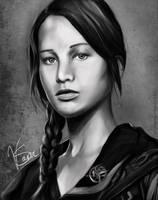 Katniss Everdeen by TinaTurtle