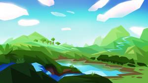 Green Hill by s4yo
