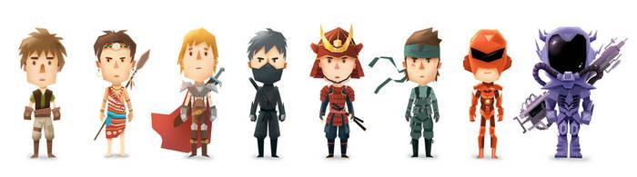 Armor lineup by s4yo