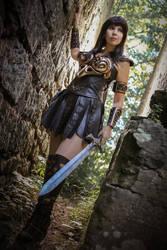Warrior Princes Xena - I'm ready! by KamuiCosplay
