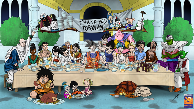 The Last Super Supper by BungaCadabra23