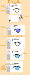 Eye Colouring Tutorial by Karijn