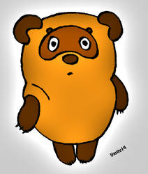 Winnie-Pooh by Yuri-Bogatov