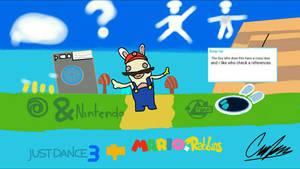 Just Mario + Rabbids, Dancing Battle by fonodosebas