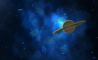 Saturn by Ivetttee