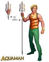 Aquaman by mosingo
