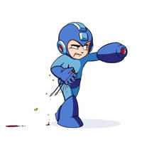 Walk Right - Mega Man by mosingo