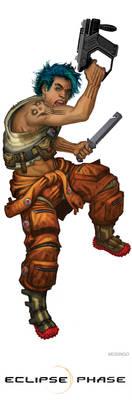 Carbon Reaver Pirate by mosingo