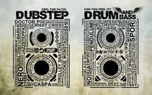 DrumANDBass VS Dubstep by MerX1337