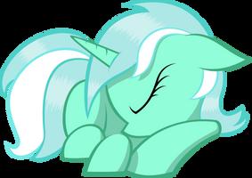Sleeping Lyra by KalleFlaxx