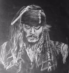 Captain Jack Sparrow by khanf