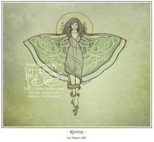 Mycena by myceliae