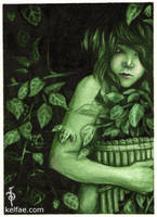 Whispers in the Green - ACEO by myceliae