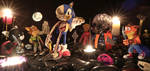 Sonic Attack Imminent! (Handmade Polymer Clay) by Claysan
