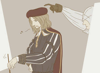 Mission : Take Leo's Hat by doubleleaf
