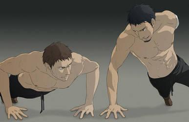 pushups by doubleleaf