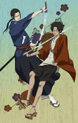 Samurai Champloo by doubleleaf