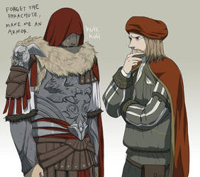 Armor of Brutus by doubleleaf